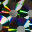 Dilapidated cd disks — 图库照片