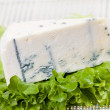 Blue cheese portion — Stock Photo