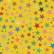 Multicolored stars, seamless pattern — Stock Vector