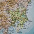 Map of Japan — Stockfoto