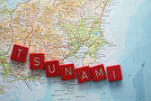 Tsunami in Japan — Stock Photo