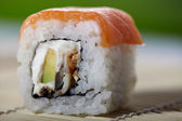 Asian maki sushi — Stock Photo