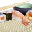 Stock Photo: Asian maki sushi