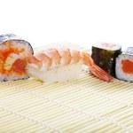 Asian maki sushi — Stock Photo