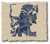 The vector mayan and inca tribal — Wektor stockowy