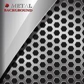 抽象的な金属の背景 — ストックベクタ
