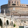 Castel Sant&#039; Angelo in Rome, Italy - Stock Photo