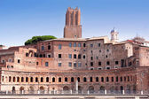 Details of Trajan Market in Rome — Stock Photo