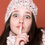 Shhh — Stock Photo