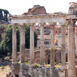 Landscape view of roman forum in Rome, Italy — Stockfoto
