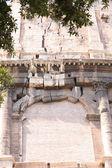 Detaljer för ruiner colosseum i rom, italien — Stockfoto