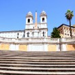 Spanish Steps in Rome Italy — Stock Photo #5043282