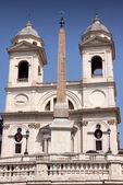Church of Trinita dei Monti in Rome Italy — ストック写真