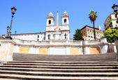 Spanish Steps in Rome Italy — Stock Photo