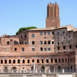 Trajan Market (Mercati Traianei) in Rome, Italy — Stock Photo #5222572