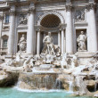 The Trevi Fountain in Rome, Italy — ストック写真