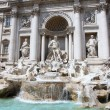 The Trevi Fountain in Rome, Italy — Stock Photo