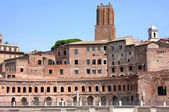 Trajan market (mercati traianei) in rom, italien — Stockfoto
