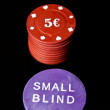 small blind — Stock Photo