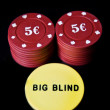 Big blind — Stock Photo
