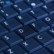 Netbook keyboard — Stock Photo