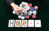 Gambling game — Stock Photo