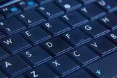 Netbook keyboard — Stock Photo