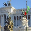 Rome, monument Victor - Emanuel — Stock Photo #4773685