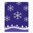 Royalty-Free Stock Vector Image: Winter Christmas background