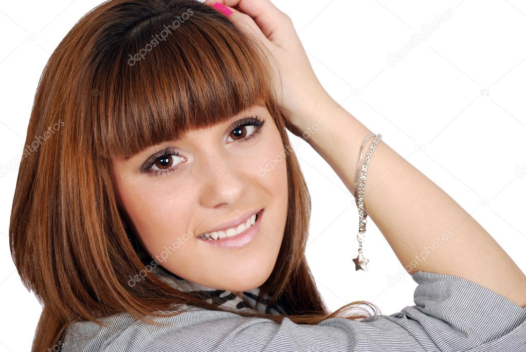 Beauty girl portrait — Stock Photo #4167308