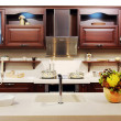 New modern kitchen — Stock Photo