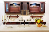 New modern kitchen — Stockfoto