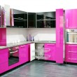 Pink kitchen — Stock Photo #4445673