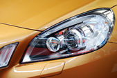 Car front light — Stockfoto