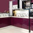 Purple kitchen — Stock Photo #4494910