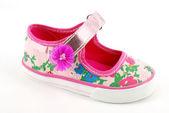 Sapato colorido de crianças — Foto Stock