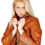 Beauty blonde woman posing — Stock Photo