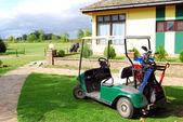 Golf cart car — Stock Photo