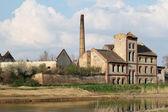 Abandoned industry zone — Stock Photo