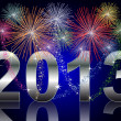 New Year 2013 — Stock Photo #5195290