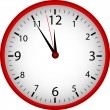 Red Clock — Stock Photo #5195365