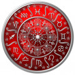 Stock Photo: Zodiac Disc
