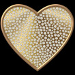 Diamond Symbol Heart - Stock Photo