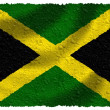 Flag of Jamaica — Stock Photo