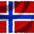 Stock Photo: Flag of Norway
