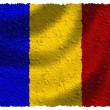 Stock Photo: Flag of Romania