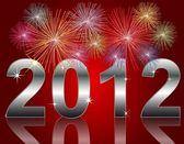 Nowy rok 2012 — Zdjęcie stockowe