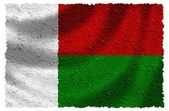 Flag of Madagascar — Stock Photo