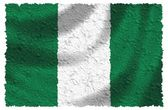 Flag of Nigeria — Stock Photo