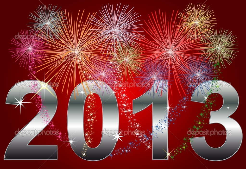 New Year 2013 — Stock Photo © Petra Roeder #5195293
